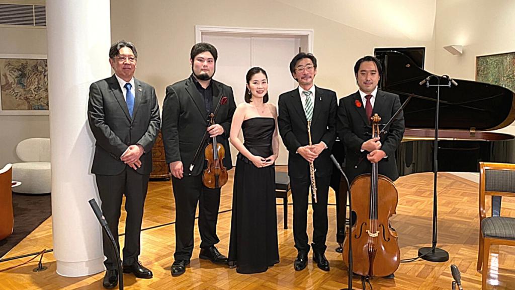 ドイツ統一記念日 バッハ室内楽コンサート